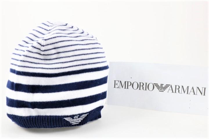 Nuovi Prodotti in vendita online autentico Armani Cappello EMPORIO ARMANI 1mese/12mesi