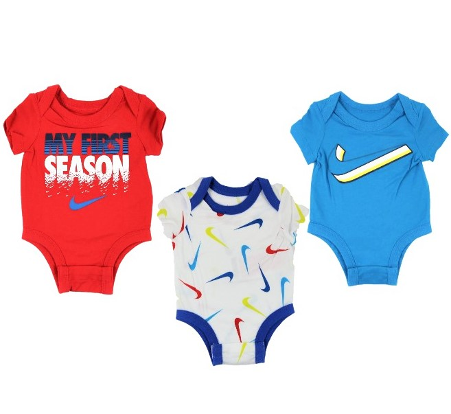 Set 3 Body NIKE 0mesi9mesi Winkids.it