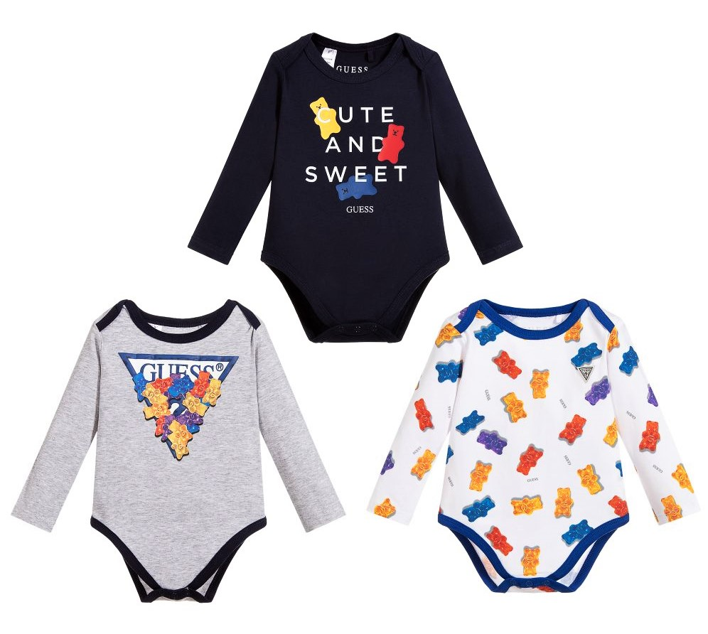 Set Body GUESS 0mesi/6mesi