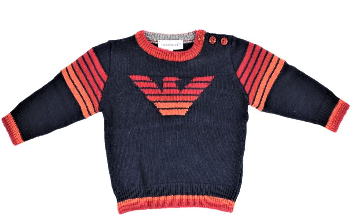 saldi bellissimo stile qualità del marchio Armani Junior Baby abbigliamento e moda bimbo - Winkids